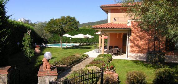 Ferienhaus Casentino, Gartentor