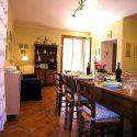 Ferienhaus Casentino - Wohnküche