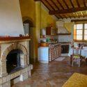 Toskana Villa dei Bagni - Innenansicht