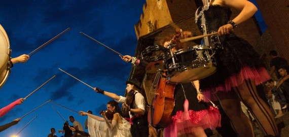 Toskana Mittelalterfest Mercantia
