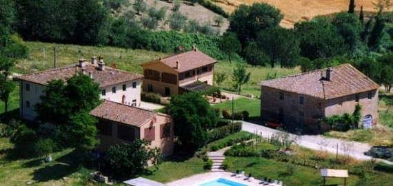 Das Landgut Cabbiavoli mit 4 unterschiedlichen Häusern