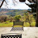 Chianti Ferienhaus Corbezzolo, Aussicht