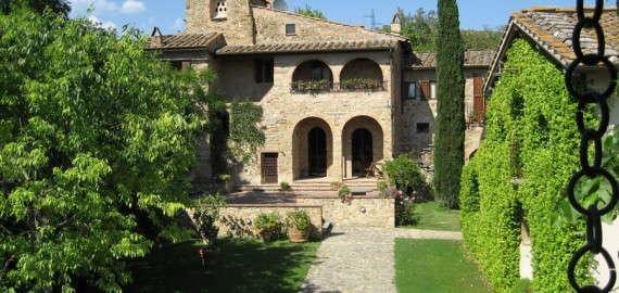Agriturismo Pogni - das ehemalige Bauernhaus mit vier Ferienwohnungen