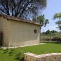 die kleine Privatkapelle auf dem Grundstück