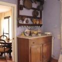 die Küche mit Blick in den Wohnraum