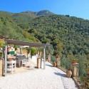 überdachte Terrasse mit herrlichem Ausblick