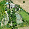 Villa Colombaiolo mit parkähnlichem Garten