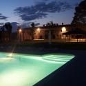 Villa Antico Fio - Pool mit Nachtbeleuchtung