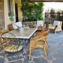 Ferienwohnung Seravezza - möblierte private Terrasse