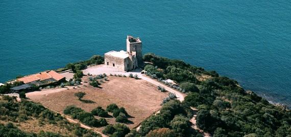 Toscana Villa Talamone - Torre Spagnola in spektakulärer Lage