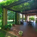 Villa Gloria - überdachte Terrasse