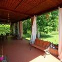 Villa Gloria - schattige Terrasse