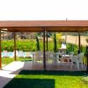 Ferienwohnung Lago Trasimeno - überdachter gemeinschaftlicher Grillplatz