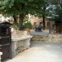 Toskana Landhaus Castel del Gallo - der Grillplatz