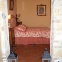 Ferienhaus La Casina - das Schlafzimmer