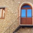 Ferienwohnung Montepescali - Eingang in der 1. Etage