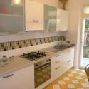 Ferienwohnung in Villa Mazzini - die Küche