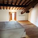 Ferienwohnung Montepescali - Schlafzimmer Mansarde