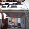 Ferienwohnung Mattia - Wohnraum mit Galerie