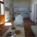 Ferienwohnung Montepescali - Wohnraum mit Kochecke