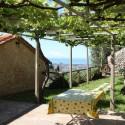 Versilia Ferienhaus Fabrizia - Garten mit Pergola
