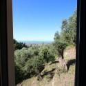 Versilia Ferienhaus Fabrizia - Panoramablick zum Meer aus der 1. Etage