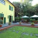 Villa Ronchi - Terrasse an der Rückseite des Hauses