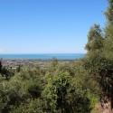 Versilia Ferienhaus Fabrizia - Ausblick bis zum Meer
