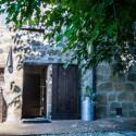 Bio Agriturismo Sang'Egle - Eingang zum Gästezimmer