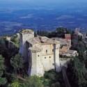 Süd-Toskana, das Dorf Dorf San Casciano dei Bagni