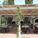Ferienvilla del Sole - der Grillbereich