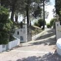 Die Auffahrt zur Ferienvilla del Sole