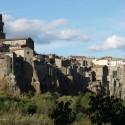Pitigliano - die Stadt auf dem Tuffsteinplateau