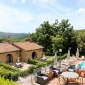 Toskana Ferienanlage Relais I Piastroni mit hübschen Ferienwohnungen