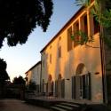 Podere Riparbella - die Restaurant-Terrasse