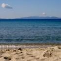 Sandstrand an der nahen Küste der Maremma