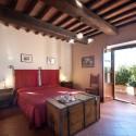 Ferienwohnung Portico - das Doppelzimmer mit Ausgang zum Garten