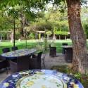 gemütliche Essplätze im Freien