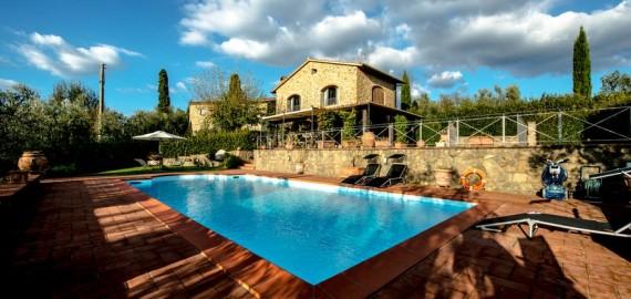 Ferienhaus Vinci mit privatem Pool und Garten