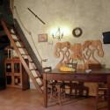 Ferienwohnung Fienile - Wohnraum mit Essplatz