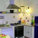 Ferienwohnung Santa Maria - Loggia - die gut ausgestattete Kochecke