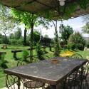 Ferienwohnung Santa Maria - Loggia - Ausblick in den schönen Garten