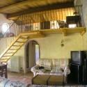 Ferienwohnung Santa Maria - Loggia - Wohnraum mit Schlafgalerie