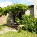 Ferienwohnung Fienile - private Terrasse