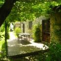 Ferienwohnung Santa Maria - Loggia - der private Aussensitzplatz