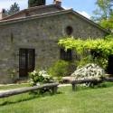 Ferienwohnung Santa Maria - Loggia mit privatem überdachten Aussensitzplatz