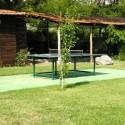 Freizeitbereich mit Tischtennisplatte