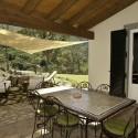 Ferienwohnung Sughera di Sotto - die Terrasse