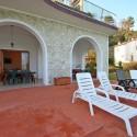 Ligurien Ferienwohnung - die private Terrasse