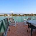 Ferienwohnung Ligurien - möblierter Terrassenbereich
